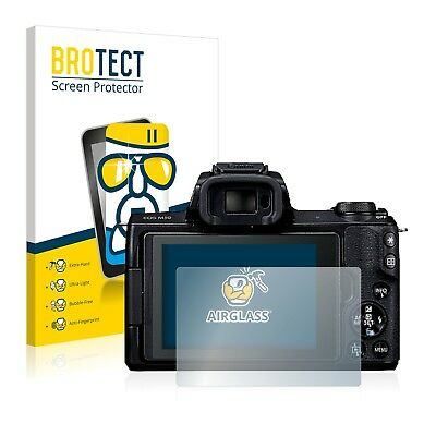 Canon EOS M50 AirGlass Glass Screen Protector Ultra Thin Protection Film