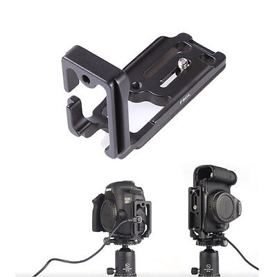 Quick Release Plate L Bracket Suit Camera Grip Custom For Canon 6D Camera