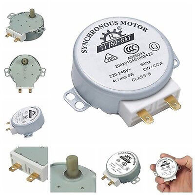 CW/CCW Microwave Turntable Turn Table Synchronous Motor TYJ50-8A7D Shaft 4RPM HL