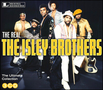 ISLEY BROTHERS * 45 Greatest Hits * NEW 3-CD Boxset * All Original Songs * NEW
