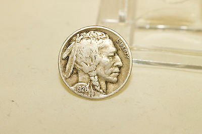 1926 Buffalo Indian Head Nickel Five Cents Coin United States Loose