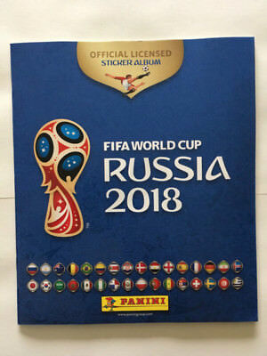 Album Panini World Cup Coupe 2018 Russia Russie Vide Stickers Neuf Mint French