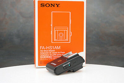 - Sony FA-HS1AM Hot Shoe Adapter