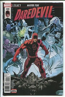 Daredevil #600 - Dan Mora Cover - Ron Garney Art - Marvel Comics/2018