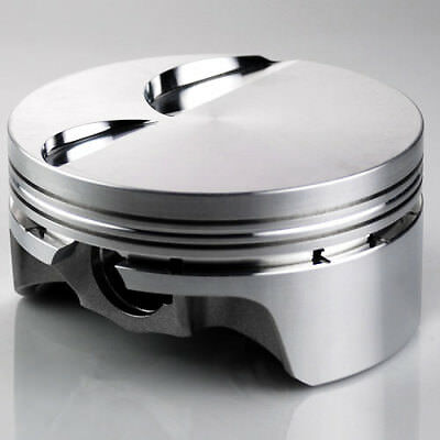 "Ross 10cc Dish Pistons 6.2L 4.070"" Bore, 4.00"" Stroke with Pins and Rings Set/8"