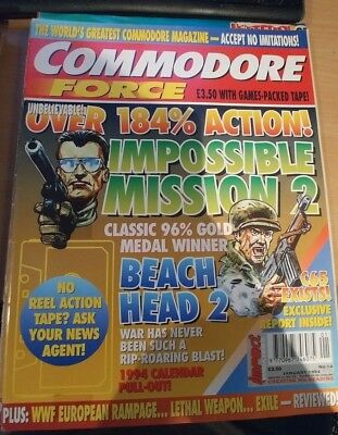 Commodore Force Magazine (Commodore 64) issue # 14 January 1994 (A)