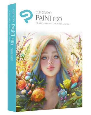 Clip Studio Paint Pro Win/Mac - PREMIUM Edition - New Retail Box
