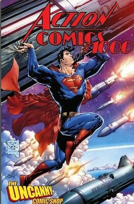 Action Comics 1000 Tony Daniel Uncanny Variant Superman Nm