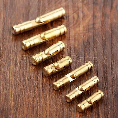 Unique Gold Jewelry Box Case Dollhouse Hidden Invisible Concealed Barrel Hinges