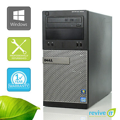 Custom Build Dell Optiplex 3010 MT  i5-3470 3.20GHz Desktop Computer PC