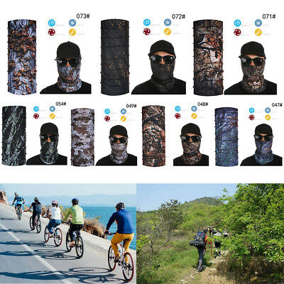 Cycling Motorcycle Head Scarf Neck Warmer Face Mask Ski Balaclava Headband JR