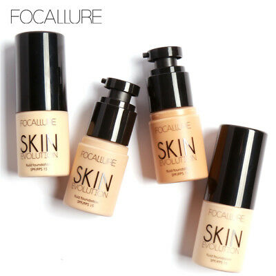 FOCALLURE Smooth Face Nude Liquid Foundation Matte Foundation Primer Makeup Base