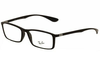 Ray Ban Eyeglasses RB7048 RB/7048 5206 Black RayBan Full Rim Optical Frame 56mm