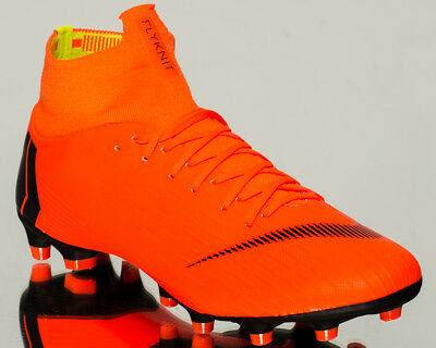 03388f93f9e Nike Mercurial Superfly VI Pro AG-PRO men soccer cleats NEW orange AH7367 -810