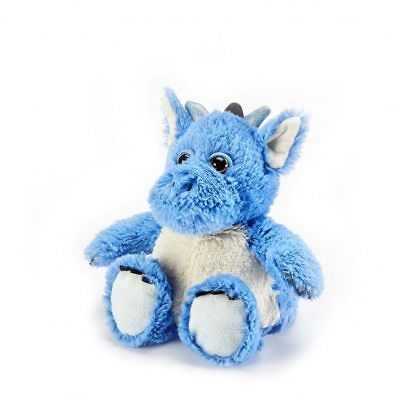 Cozy Plush Microwave Bedwarmer heat pack -Blue Dragon Wheat Pack/Cold Pack