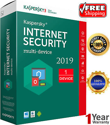 KASPERSKY INTERNET Security 2019 1 Device / 1 Year / GLOBAL KEY / Download 7.45$