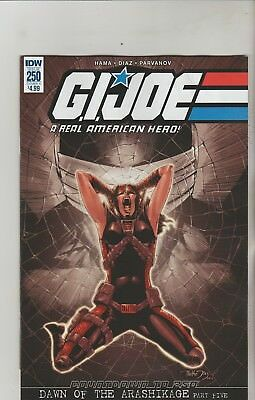 Idw Comics Gi Joe Real American Hero #250 March 2018 Variant A 1St Print Nm