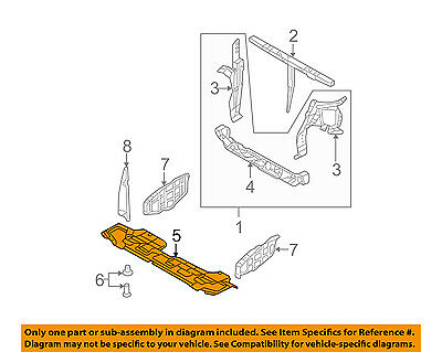 KIA OEM 06-12 Sedona Splash Shield-Under Engine/Radiator ... Kia Engine Diagram on 2000 kia sportage motor diagram, kia car diagram, kia rio 1.6 engine, kia wiring diagram, kia rondo engine problems, kia 2.4 engine, kia axle diagram, kia 4 wheel drive problems, kia serpentine belt diagram, 2006 kia rio belt diagram, 2005 kia sedona firing order diagram, kia parts diagram, kia sedona starter diagram, 2000 kia sportage timing marks diagram, kia steering diagram, kia engine specs, toro groundsmaster 120 wire diagram, 2005 kia sedona exhaust system diagram, kia 3.5 engine problems,