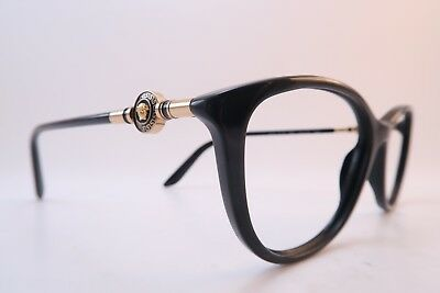 955ad474963c Vintage Versace eyeglasses frames Mod 3175 GB1 Size 54-16 140 made in Italy