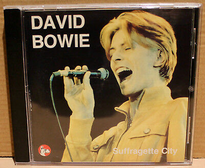 GREAT DANE CD GDR-CD-9023 David Bowie, Suffragette City 1976 Concert, ITALY 1990