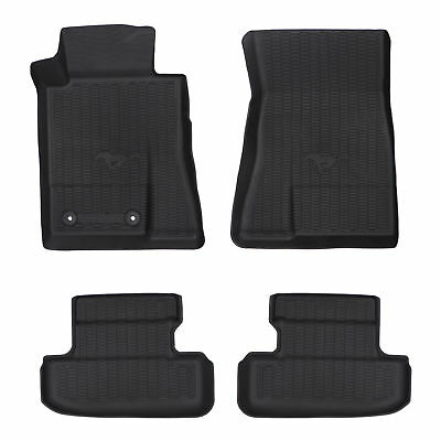 OEM NEW Front & Rear All Weather Floor Mats 15-18 Ford Mustang HR3Z-6313300-AA