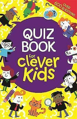 Quiz Book for Clever Kids By Dr Gareth Moore NEW (Paperback) Quiz Book