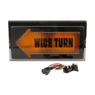 Truck-Lite 40 Series, Left, Yellow Rectangle Incan. Wide Turn Aux Turn Signal