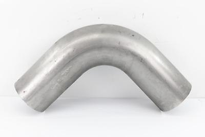 "4"" OD/OD Steel 90 Degree Exhaust Elbow - 12"" Arms"