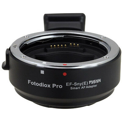 FotodioX Canon EF Lens to Sony E-Mount Camera Pro Fusion Smart AF Adapter