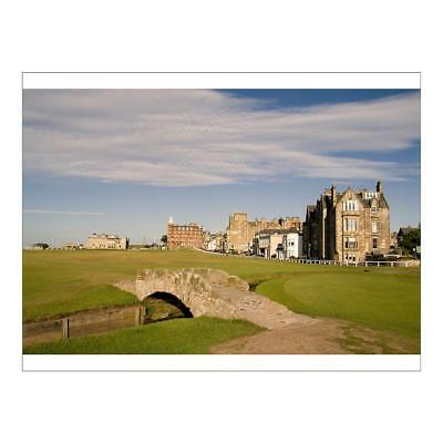 """11152454 16""""x12"""" (41x30cm) Print Golfing the special Swilcan Brid..."""