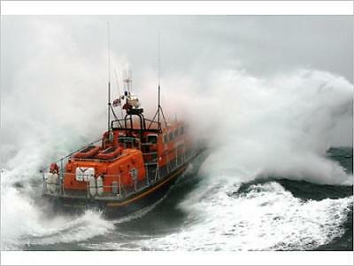 "5139905 16""x12"" (41x30cm) Print Poole Tyne class lifeboat City of..."