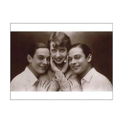 "5872661 16""x12"" (41x30cm) Print The Rocky Twins with Mistinguett..."