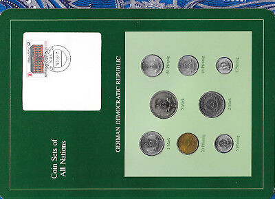 Coin sets of all nations East Germany 1979-1980 UNC 5 Mark KM#29 32,000