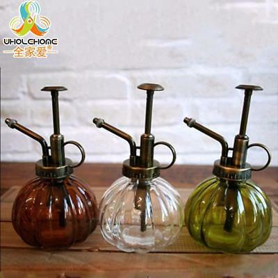 Vintage Glass Watering Cans /Zakka Gardening Water can Garden Decoration Top Can