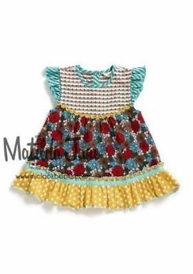 NWT Matilda Jane Girl's Size 2 or 4 Once Upon a Time Elfish Flutter Top NEW