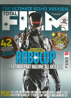 Total Film Magazine Uk Magazine January 2014 #214 The Ultimate Sci-Fi Preview