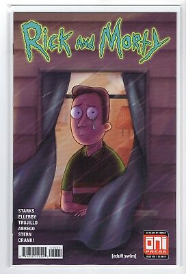 Rick and Morty Issue #36 (3/28/18 ONI PRESS 1st Print)