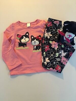 GYMBOREE MIX N MATCH COOL DOG WITH SHADES S//S TEE 4T NWT