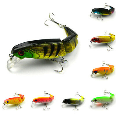 Plastic Fishing Lures 14g Pesca 10.5cm Isca Jointed Hard Bait Swimming Hooks