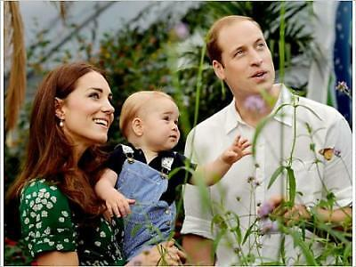 """10129724 16""""x12"""" (41x30cm) Print of Prince Georges first birthday"""