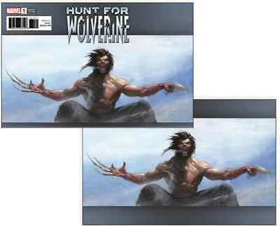 Hunt for Wolverine #1 Two Cover Set Gabriele Dell'Otto Exclusive PRE ORDER