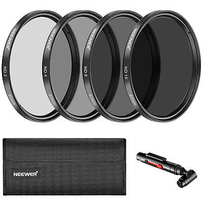 Neewer 67mm Neutral Density Filter and Accessory Kit for Canon Rebel T5i T4i T3i