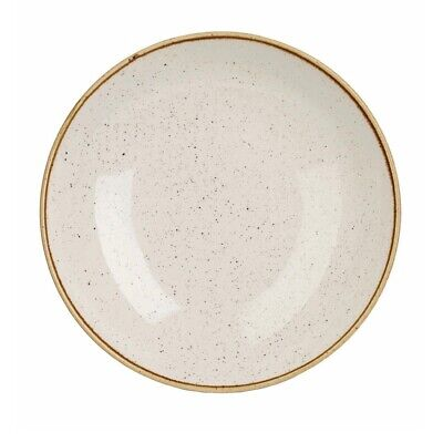 Churchill Stonecast Round Coupe Bowl Barley White 315mm (Pack of 6) BARGAIN