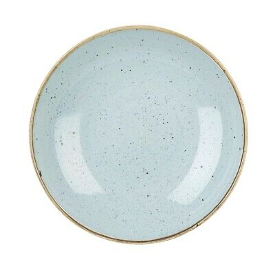 Churchill Stonecast Round Coupe Bowl Duck Egg Blue 220mm (Pack of 12) BARGAIN
