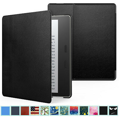 MoKo Ultra Slim Smart Magnetic Shell Cover Case for Amazon Kindle Oasis 9th 2017