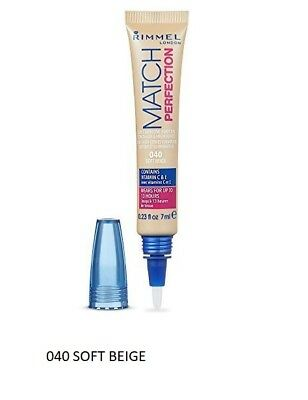 Rimmel Match Perfection 2 En 1 Anti Cernes N°040 Soft Beige Neuf