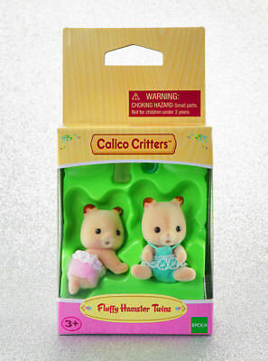Sylvanian Families Calico Critters Fluffy Baby Hamster Twins