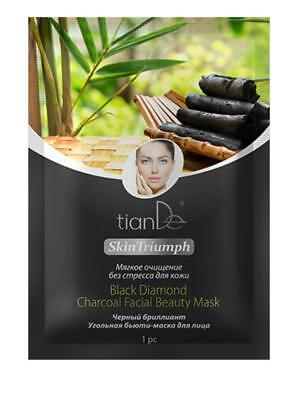 Black Diamond Charcoal Facial Beauty Mask Gentle cleansing without stress skin