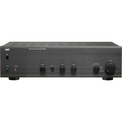 100Wrms Per Channel Stereo Amp High Current - Black - Amc