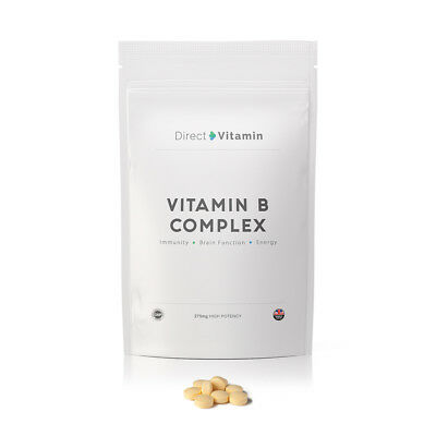 Vitamin B Complex Contains all Eight B Vitamins in one 30/60/90/180/365 Tablets